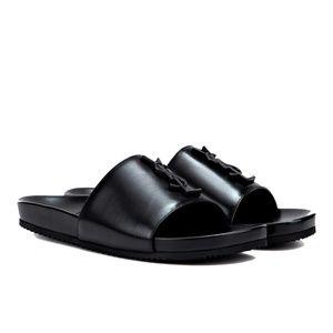 New Saint Laurent Joan Slide Sandals